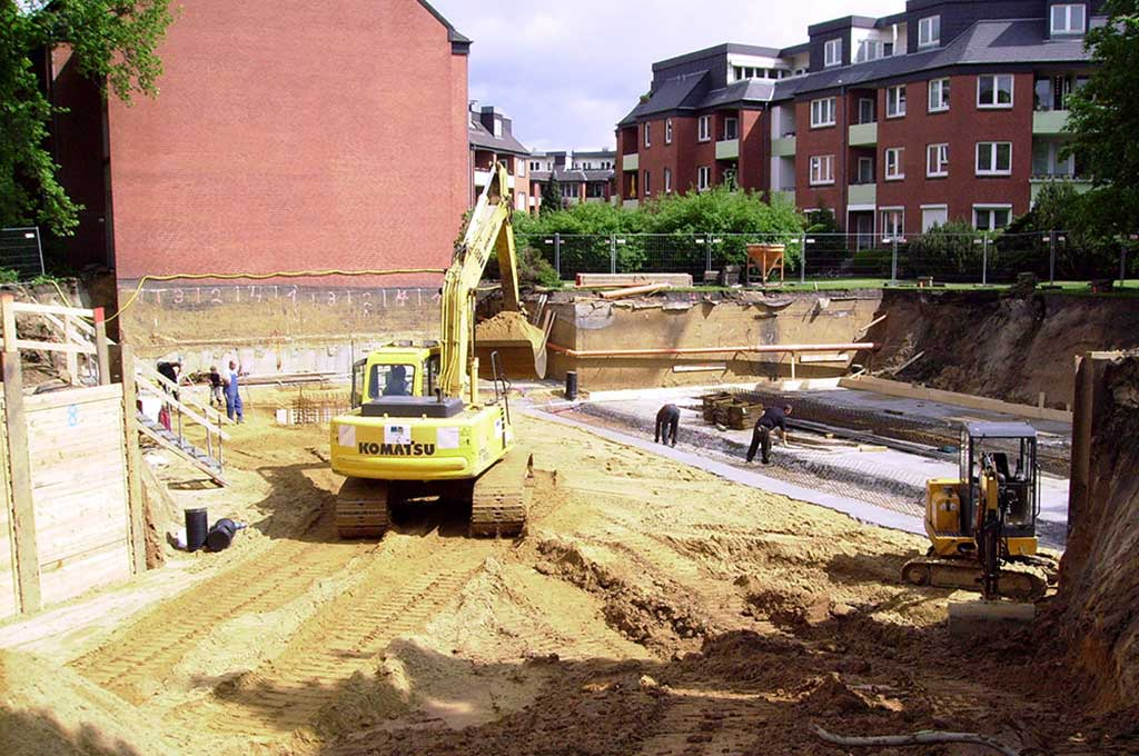 Tiefbau und Ausschachtungsarbeiten in Hamburg