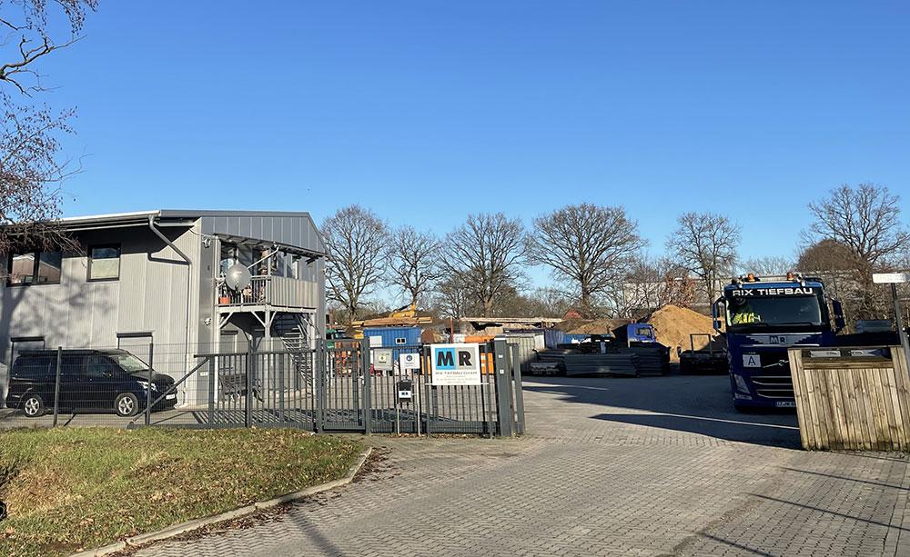 Betriebsgelände Rix Tiefbau